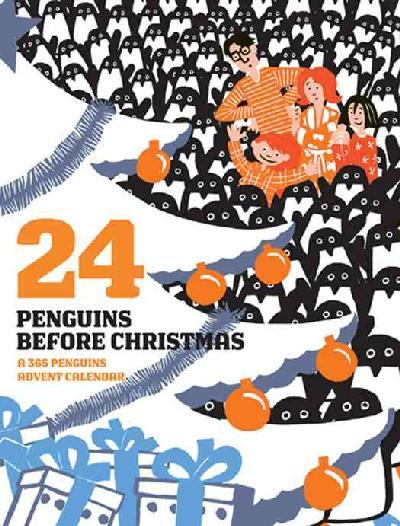 24 Penguins Before Christmas Advent Calendar