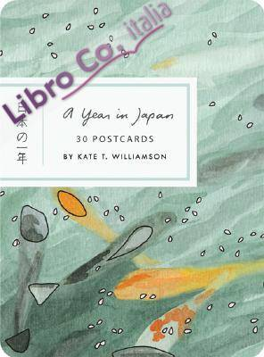 A Year in Japan Postcard Book
