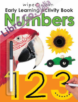 Wipe Clean Early Learning Activity: Numbers