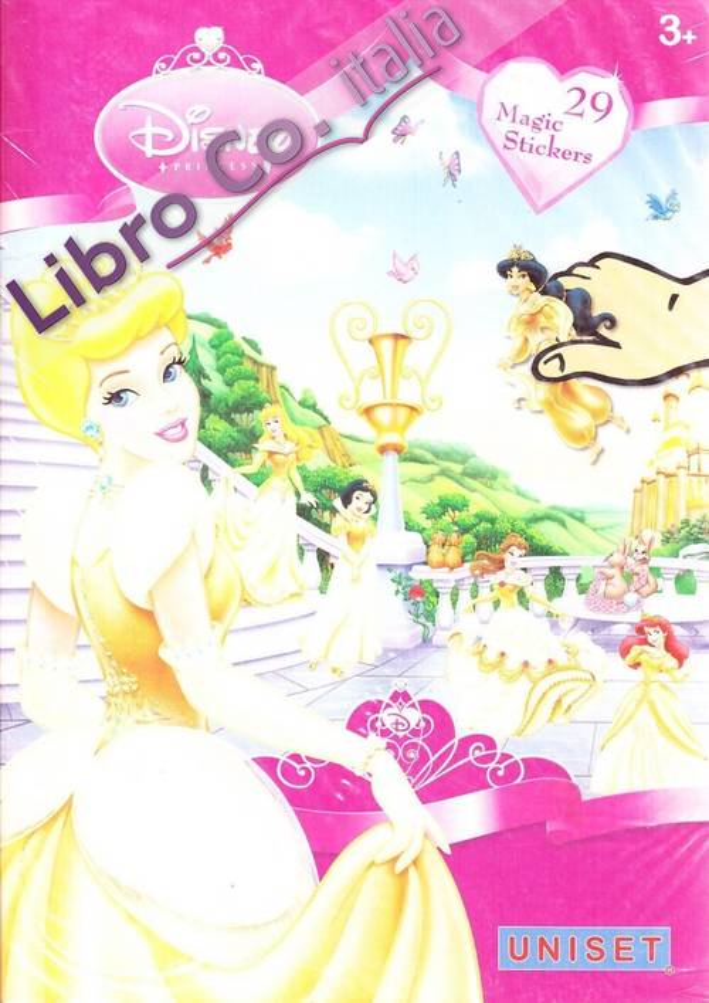 Disney princess. Con adesivi. Ediz. illustrata
