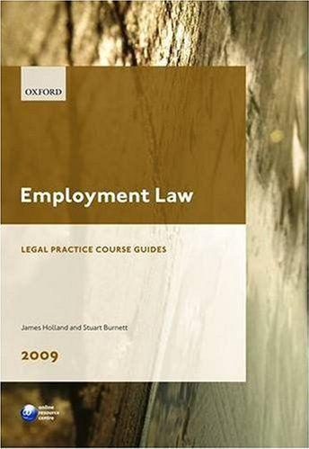 Employment Law 2009