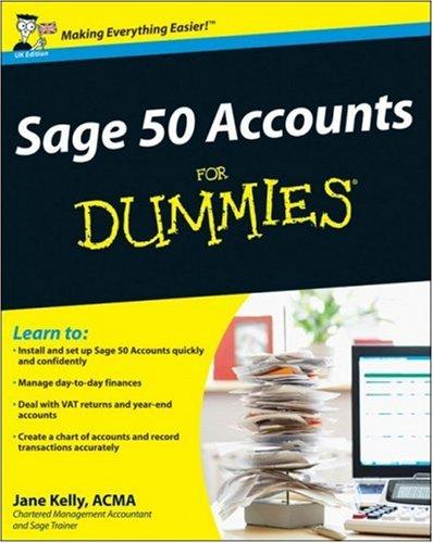 Sage 50 Accounts 2008 for Dummies