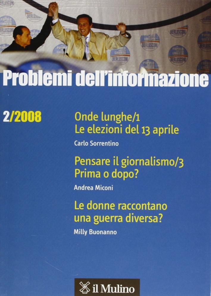 Problemi dell'informazione (2008). Vol. 2.