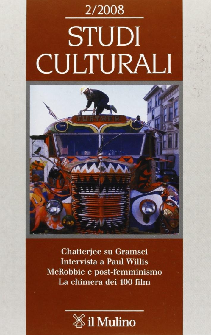 Studi culturali (2008). Vol. 2