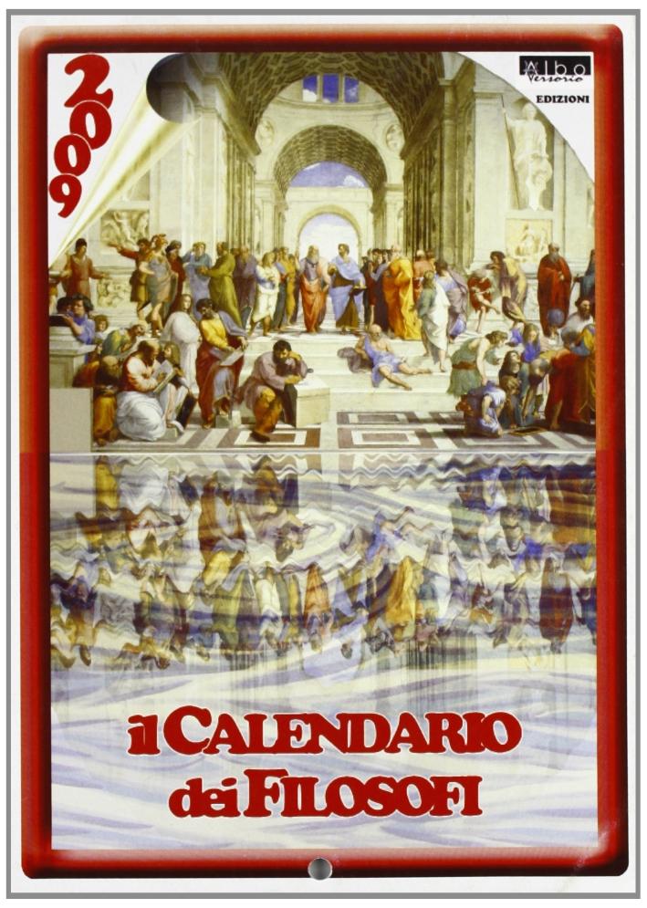 Il calendario dei filosofi.