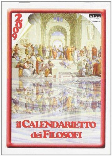 Il calendario dei filosofi. Agenda