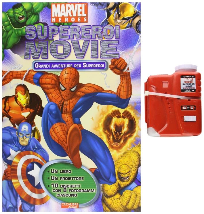 Supereroi Movie. Grandi Avventure Per Supereroi. Con Gadget.
