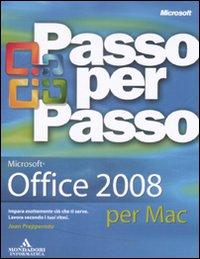 Microsoft Office 2008 per Mac. Passo per Passo
