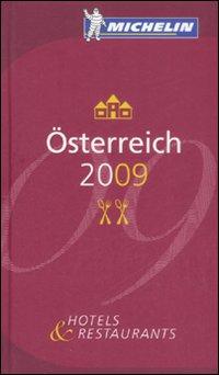 Österreich 2009. La Guida Michelin.
