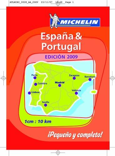 Mini Atlas Spain and Portugal.