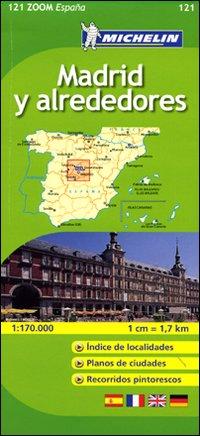 Madrid y Alrededores 1:170.000. Ediz. Multilingue.