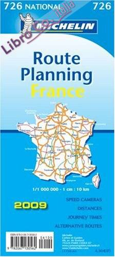 France Grands Itinéraires­france Route Planning 1:1.000.000.