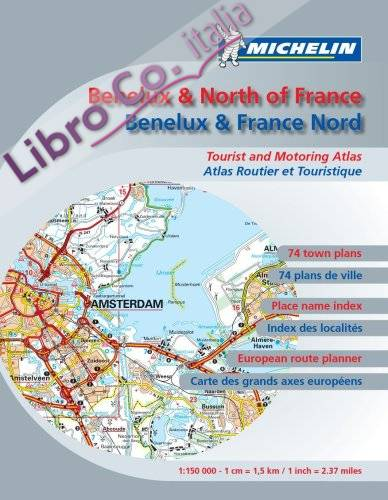 Road Atlas Benelux and N. France.