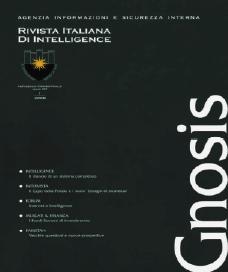 Gnosis. Rivista Italiana di Intelligence (2008). Vol. 3