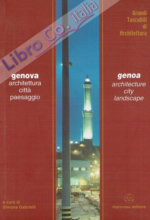 Genova architettura città paesaggio