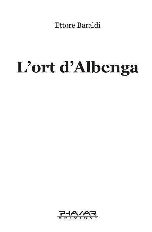 L'ort d'Albenga