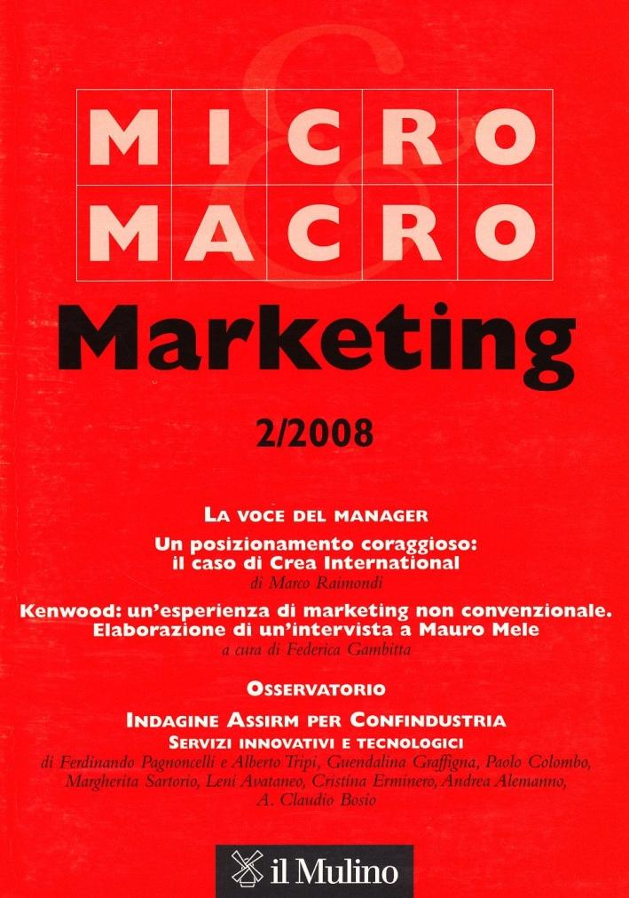Micro & Macro Marketing (2008). Vol. 2.