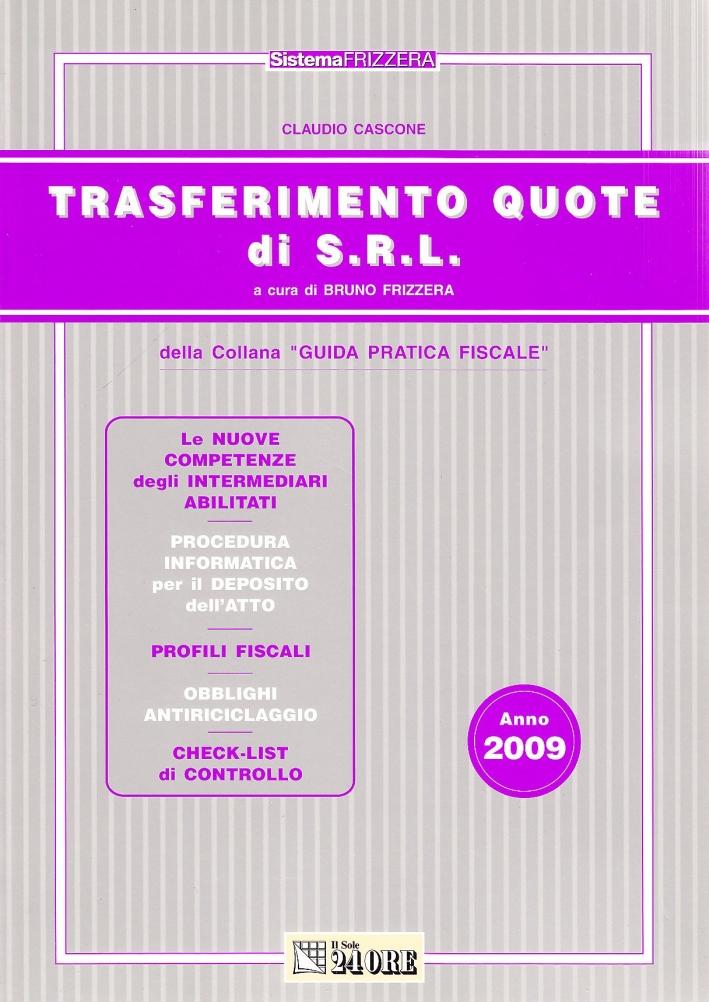 Trasferimento quote di S.R.L. Le nuove competenze dei dottori commercialisti