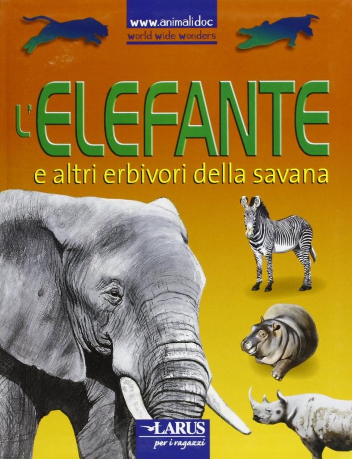 L'elefante e altri erbivori della savana