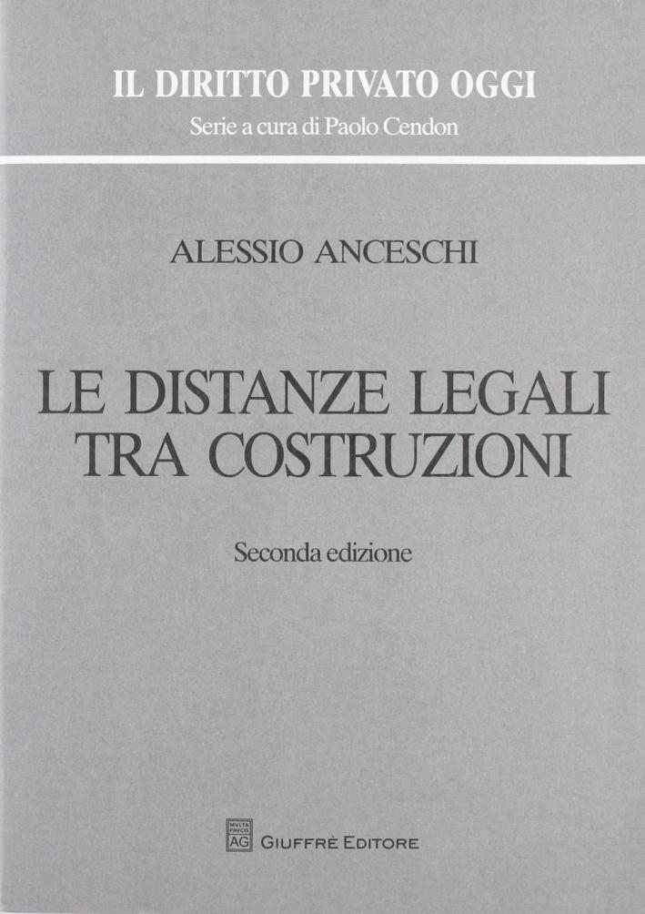 Le distanze legali tra costruzioni
