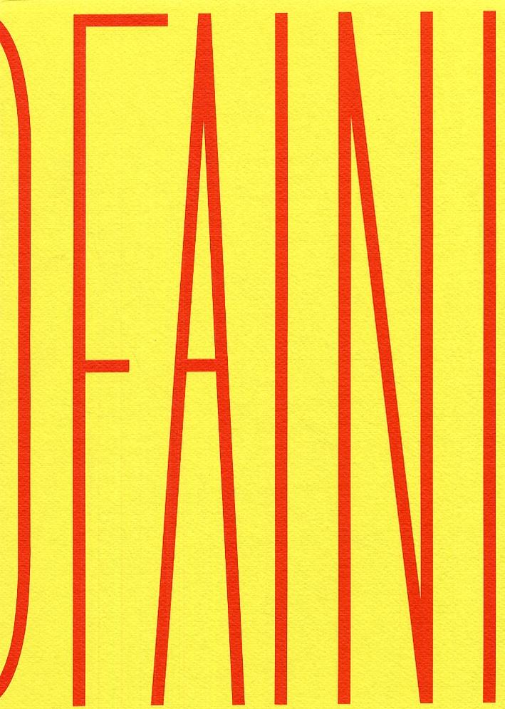Fausto Faini. [Edizione italiana e inglese]
