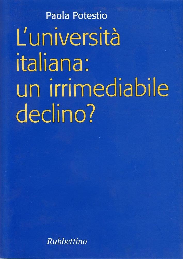 L'università italiana
