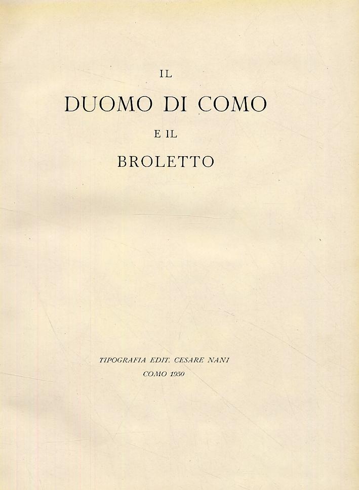Il duomo di Como e il Broletto