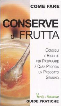 Conserve di frutta