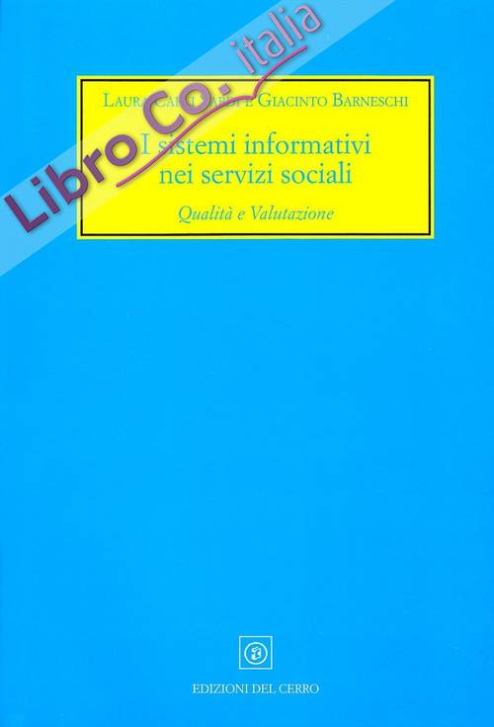 I sistemi informativi nei servizi sociali