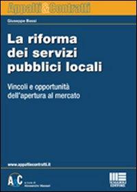La riforma dei servizi pubblici locali