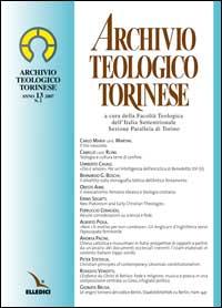 Archivio teologico torinese (2007). Vol. 2