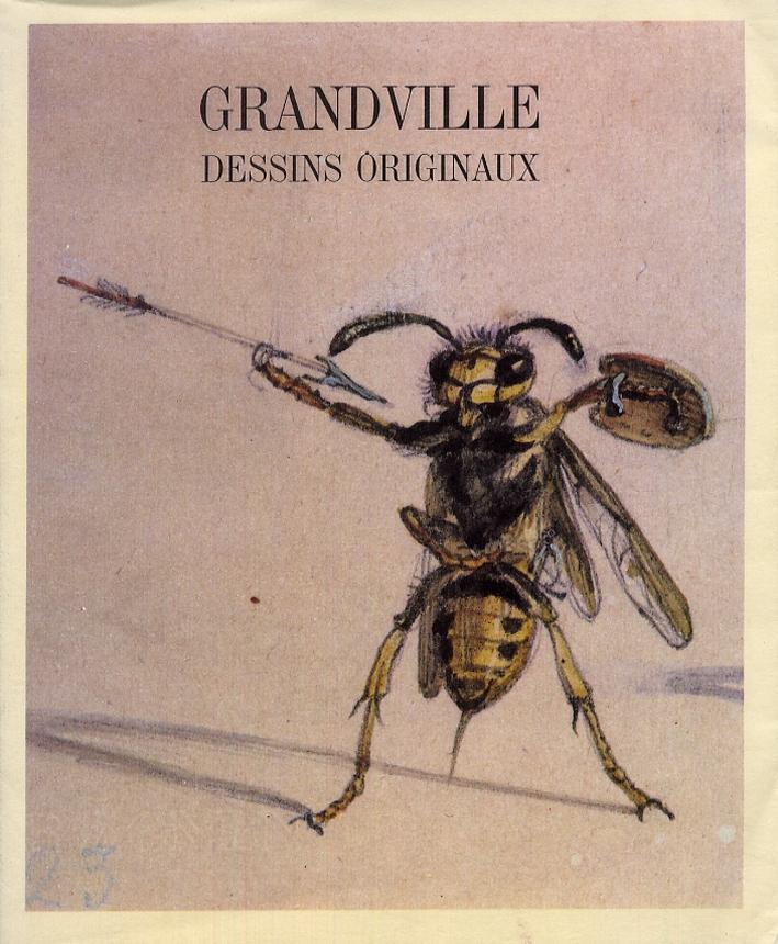Grandville dessins originaux.