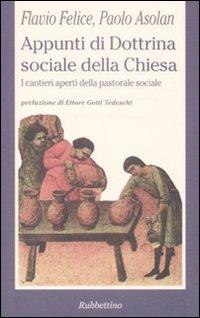 Appunti di dottrina sociale della Chiesa.