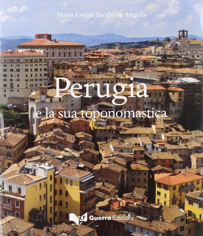 Perugia e la sua toponomastica