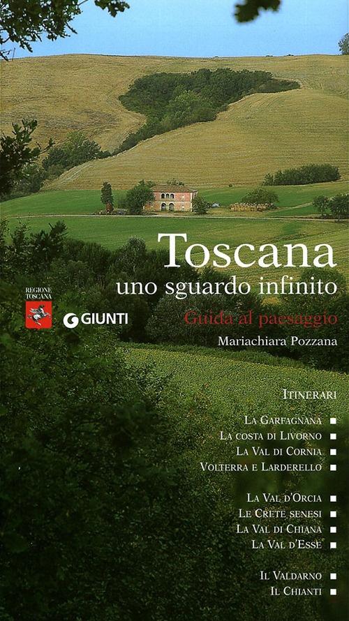 Toscana uno sguardo infinito. Guida al paesaggio