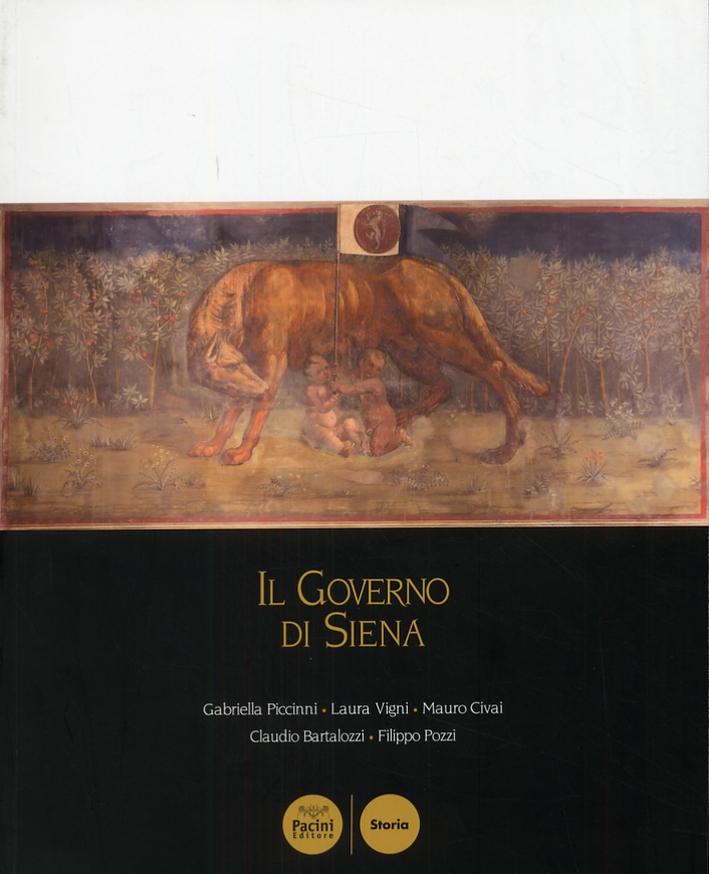 Il Governo di Siena. Storia dei consigli cittadini dal medioevo ai giorni nostri.