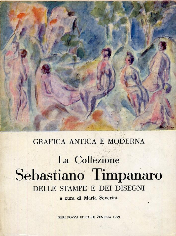 La collezione Sebastiano Timpanaro nel Gabinetto disegni e stampe dell'Istituto di storia dell'arte dell'Università di Pisa.
