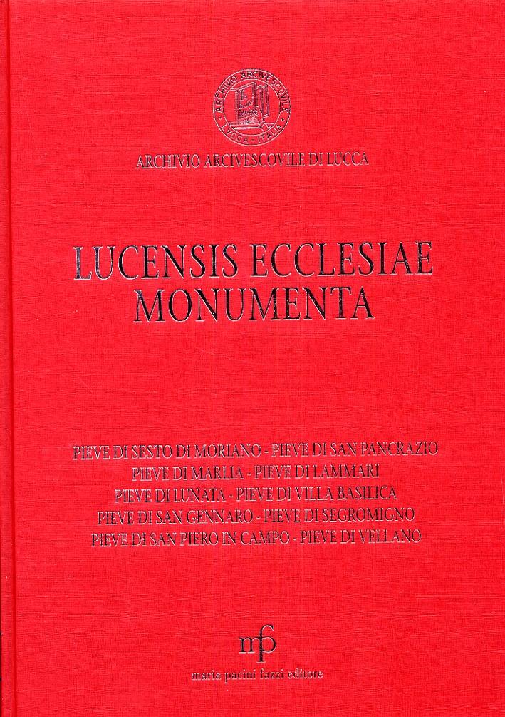 Lucensis ecclesiae monumenta. A saeculo VII usque annum MCCLX. Volume 2.
