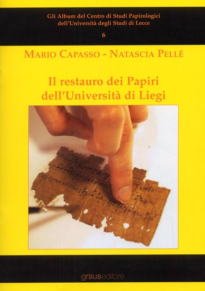 Il restauro dei Papiri dell'Università di Liegi.