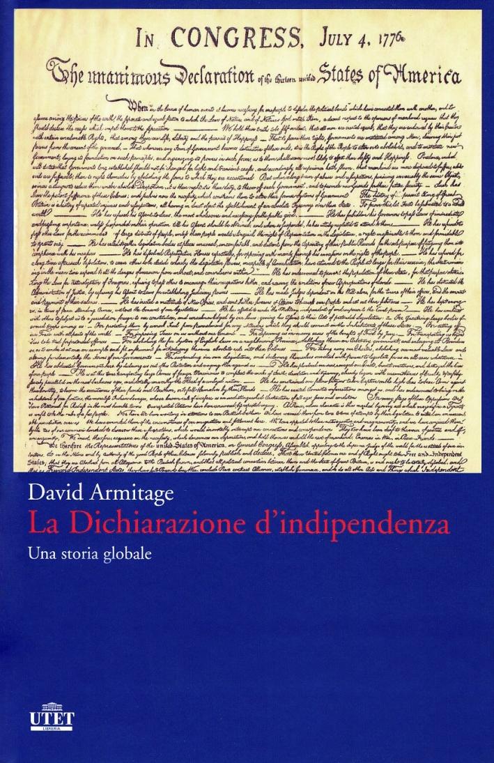 La dichiarazione d'indipendenza.