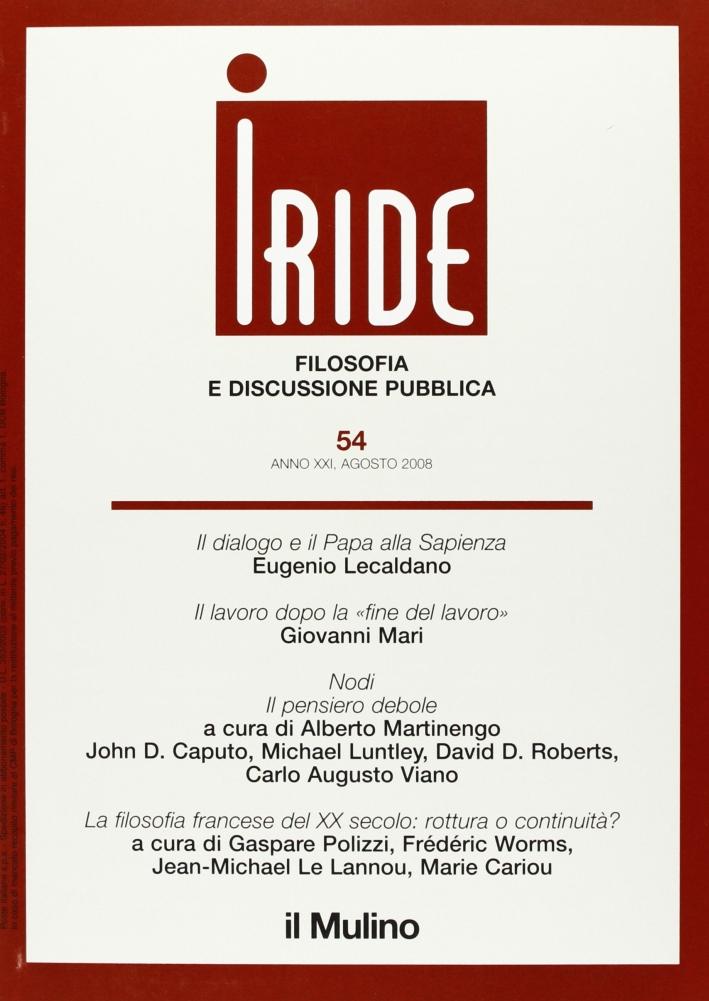 Iride (2008). Vol. 2.