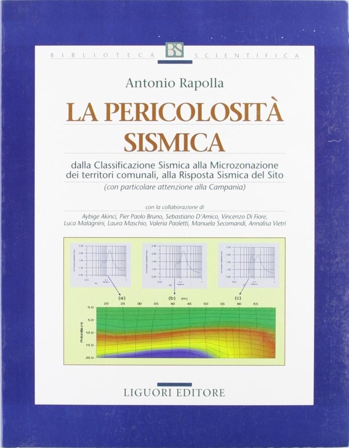 La pericolosità sismica. Dalla classificazione sismica alla microzonazione dei territori comunali, alla risposta sismica del sito.