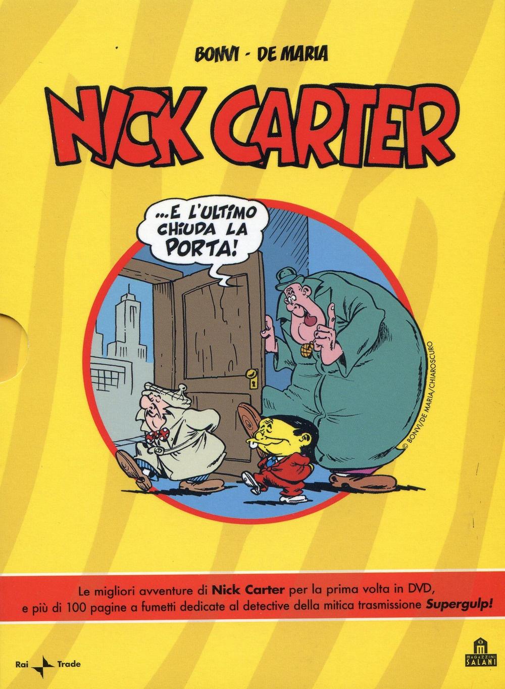 Nick Carter. Con DVD.
