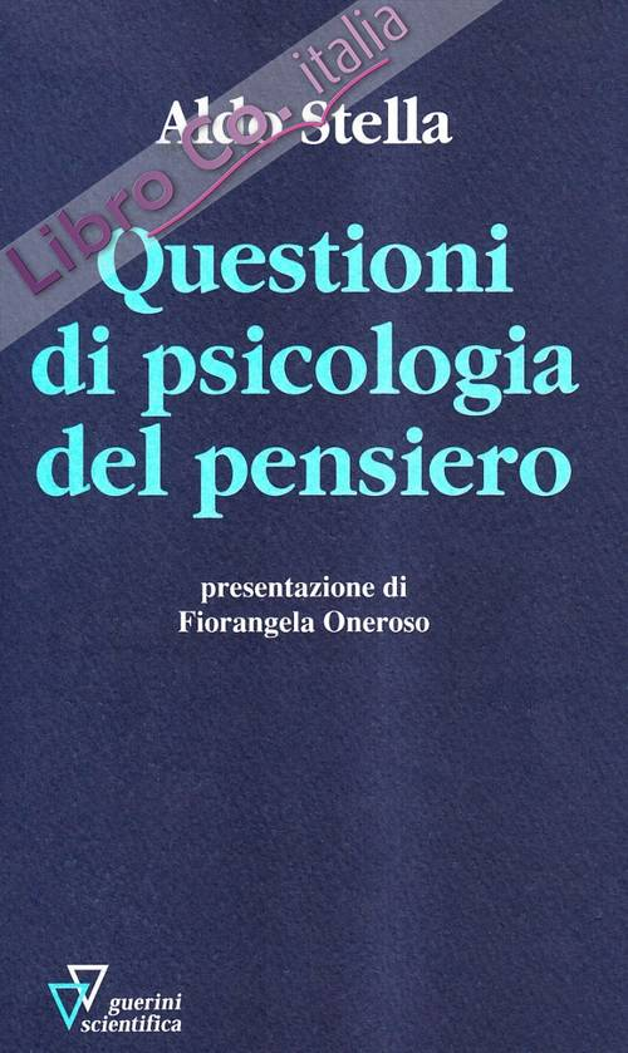 Questioni di psicologia del pensiero.