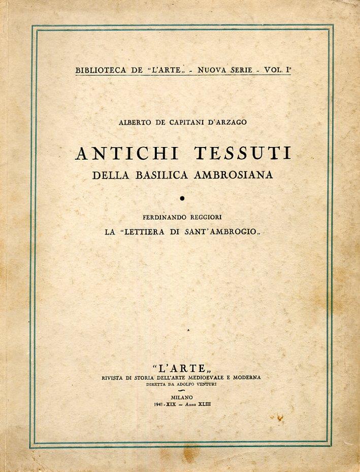 Antichi tessuti della Basilica Ambrosiana.
