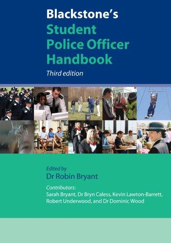 Blackstone's Student Police Officer Handbook.
