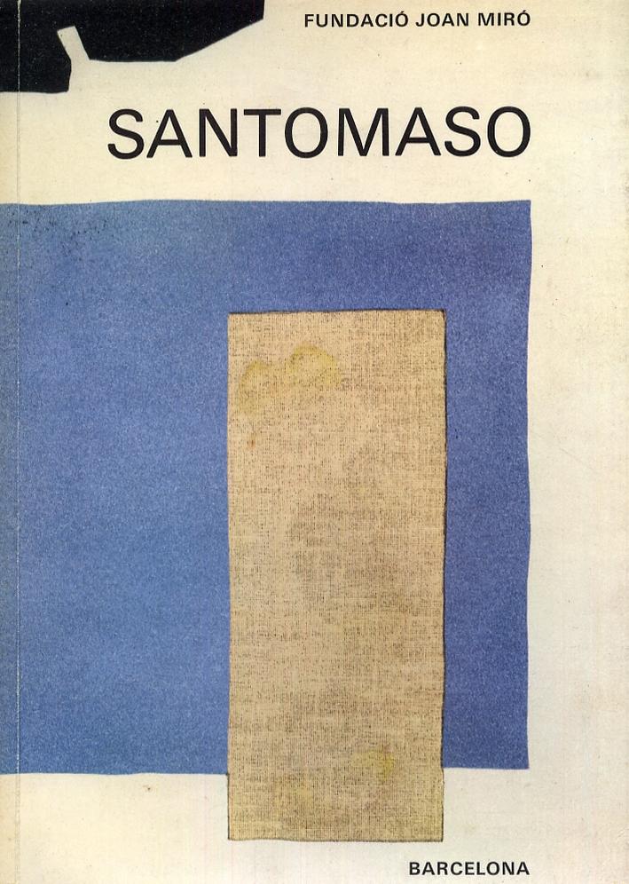Santomaso. [Edizione italiana e spagnola].