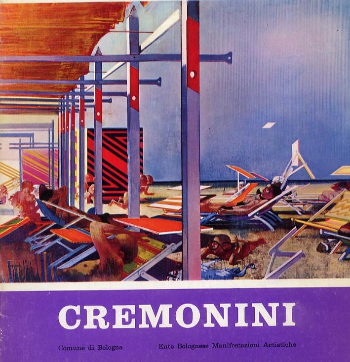 Leonardo Cremonini. Mostra antologica 1953-1969. [Edizione italiana e francese].
