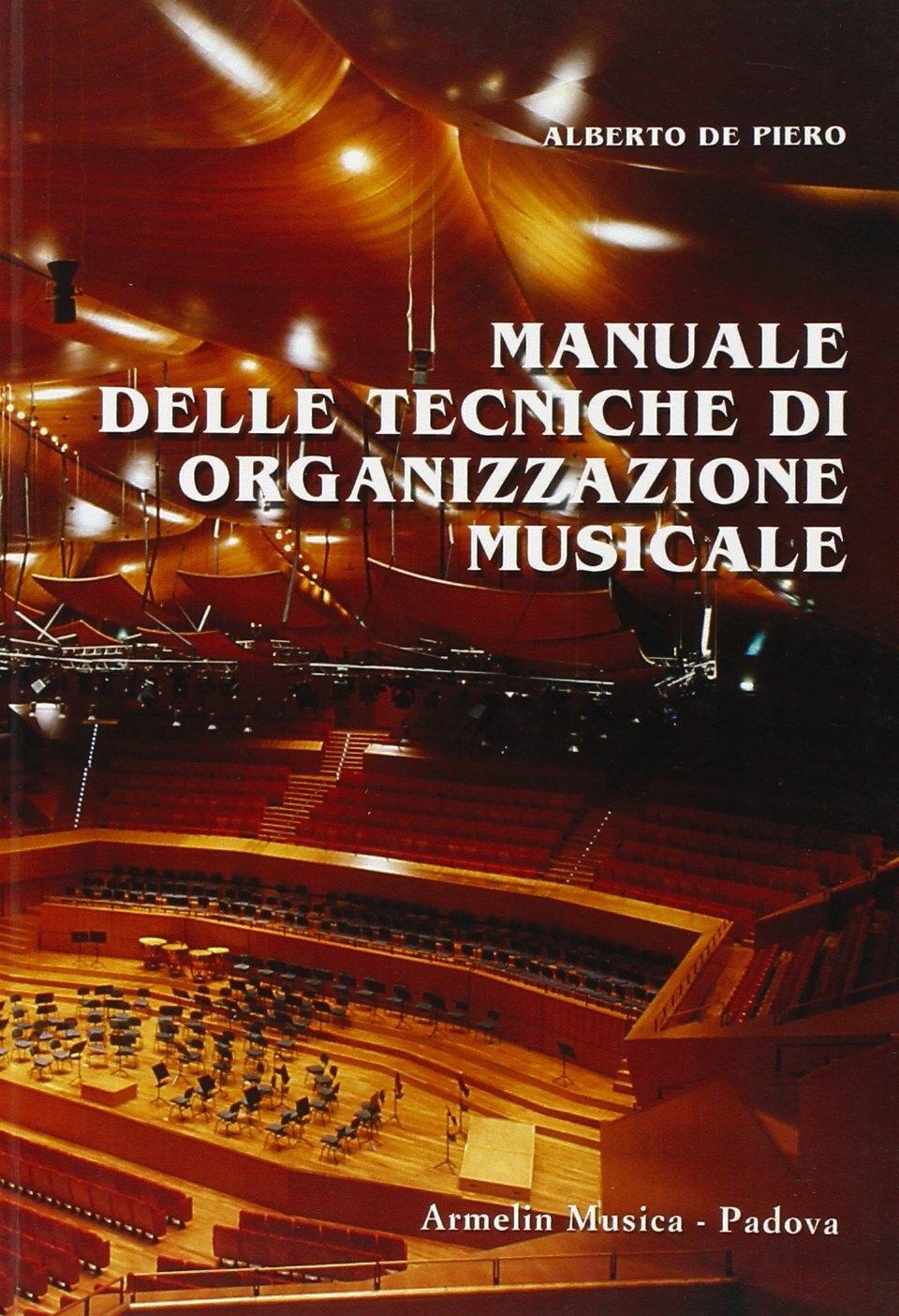 Manuale delle tecniche di organizzazione musicale