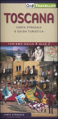 Toscana. Carta Stradale e Guida Turistica. 1:200.000.